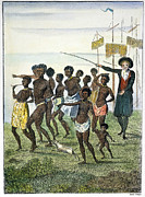 J.g Framed Prints - Slavery: West Indies, 1796 Framed Print by Granger