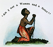 Abolition Prints - Slavery: Woman, 1832 Print by Granger