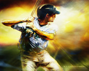 Batter Painting Prints - Sledge Hammer Print by Mike Massengale