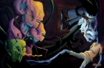 Monsters Paintings - Sleep Paralysis by Matt Truiano