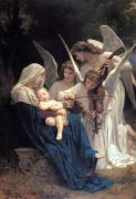 Singing Photo Originals - Sleeping Baby Jesus by Munir Alawi