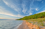 Sleeping Art - Sleeping Bear Dunes by Dean Pennala