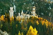 Disney Art - Sleeping Beauty-Neuschwanstein by John Galbo