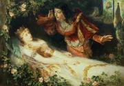Sleeping Art - Sleeping Beauty by Richard Eisermann