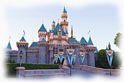 Fairytale Prints - Sleeping Beautys Castle Disneyland Print by Heidi Smith