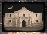 The Alamo Framed Prints - Sleeping Spirit of the Alamo Framed Print by Carol Groenen