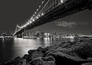 Sleepless Nights And City Lights Print by Evelina Kremsdorf