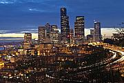 Seattle Skyline Prints - Sleepy in Seattle Print by Richard Heath
