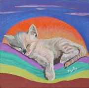 Sleepy Time Print by Phyllis Kaltenbach