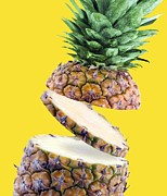 Sliced Prints - Sliced Pineapple Print by Victor Habbick Visions