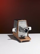 Projector Framed Prints - Slide Projector Framed Print by Adrian Burke