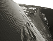 Great Sand Dunes Prints - Sliding Down Slowly Print by Theresa Baker