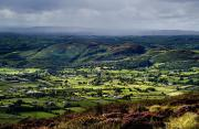 Valleys Photos - Slieve Gullion, Co. Armagh, Ireland by The Irish Image Collection