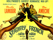 Carter Art - Slightly French, Dorothy Lamour, Don by Everett