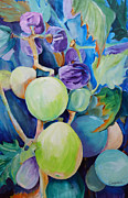 Suzanne Willis Metal Prints - Slim Pickings Metal Print by Suzanne Willis