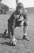 Pro Football Prints - Slingin Sammy Baugh 1937 Print by Padre Art