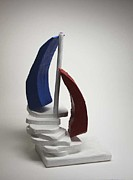 Ship Sculptures - Slippery stairs of Love by Lilian Istrati