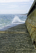 Slipway Splash - Bridlington Harbour Print by Rod Johnson