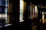 """enterprise Mill"" Photo Framed Prints - Slit Scan 5 Framed Print by Patrick Biestman"