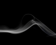 Smoke Art Prints - Slither Print by Bryan Steffy