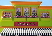Architecture Digital Art Originals - Sloans by Rob Hans