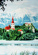 Balkan Paintings - Slovenija by Hanne Lore Koehler