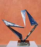 Steel Sculpture Sculptures - Slow Dancing by John Neumann
