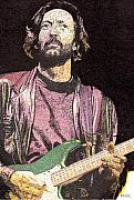 Eric Clapton Art - Slowhand by Rob Payne