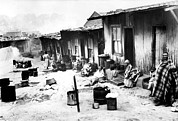 Black History Art - Slum Of Sophiatown Near Johannesburg by Everett