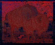 Slumber Prints - Slumbering Red Print by Mimulux patricia no