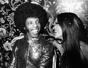 Sly Framed Prints - Sly Stone, Of Sly & The Family Stone Framed Print by Everett