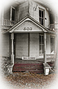 Ruin Photo Prints - Small Business Decay Print by Carolyn Marshall