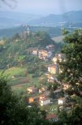 Hill Town Posters - Small Hill Town In The Eastern Piemonte Poster by Michael S. Lewis