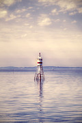 Lighthouse Art - Small Lighthouse by Joana Kruse
