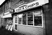 Chippy Photos - small local fish and chip ship in Wemyss Bay Scotland UK by Joe Fox