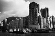 Transfer Prints - Small Pier In Western District Hong Kong Hksar China Asia Print by Joe Fox