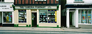 Urban Buildings Posters - Small Town England Poster by Jan Faul
