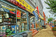 Hardware Shop Prints - Small Town USA Print by Tamera James