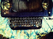 Typewriter Digital Art - Small type by Olivier Calas