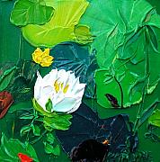 Valerie Catoire - Small Waterlilies
