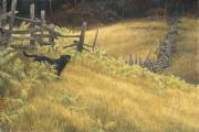 Split Rail Fence Digital Art - Smallwood by Robert Bateman