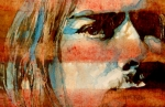 Cobain Framed Prints - Smells Like Teen Spirit Framed Print by Paul Lovering