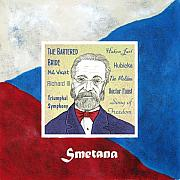 Flag Drawings Posters - Smetana Poster by Paul Helm