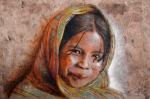 Indian Girl Posters - Smile Poster by Juan Jose Espinoza