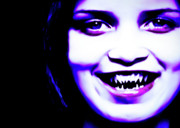 Supernatural Digital Art - Smile by Lillian Michi Adams