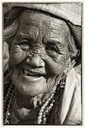Smile Print by Skip Nall