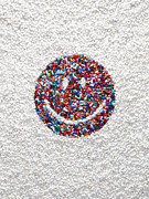 Smiley Face Posters - Smiley Face Of Pills Poster by Dwight Eschliman