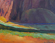 Oregon State Paintings - Smith Rock Basin by Melody Cleary