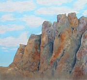 Smith Painting Originals - Smith Rock  by Carl Capps