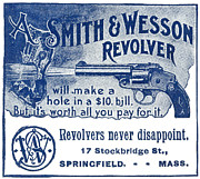 1898 Photos - Smith & Wesson Ad, 1898 by Granger